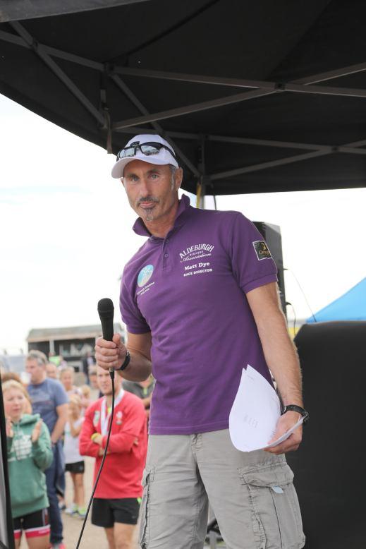 Race Director Matt Dye
